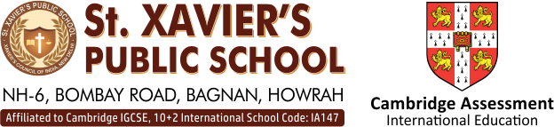 Best CBSE/ Cambridge IGCSE International School | St. Xavier's Public School, Bagnan, Howrah
